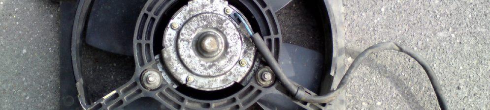 Вентилятор охлаждения двигателя на хэтчбеке ВАЗ-2114