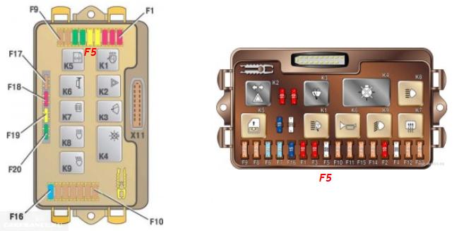 Монтажный блок ВАЗ 2114 с инжектором