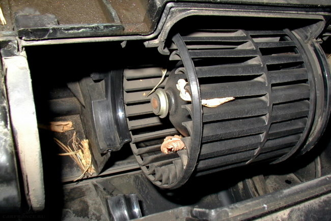 Вентилятор печки ВАЗ-2114