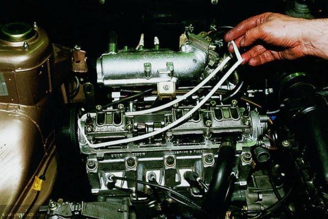 Замена клапанной крышки ВАЗ-2114