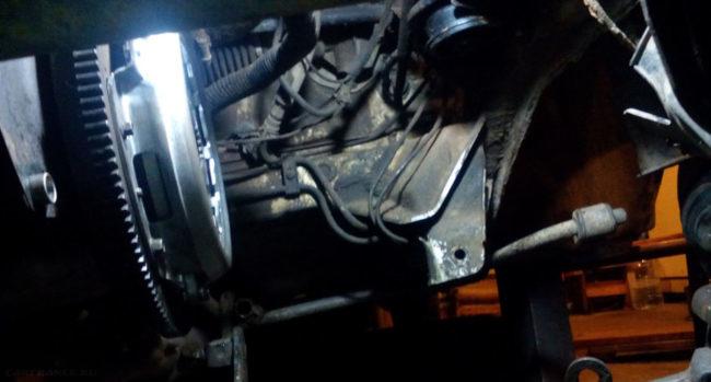 Замена сцепления без снятия коробки передач на ВАЗ-2112