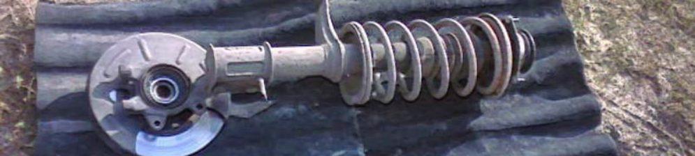 В процессе замены стоек на ВАЗ-2112