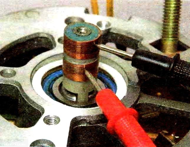 Замер ротора генератора ВАЗ-2114