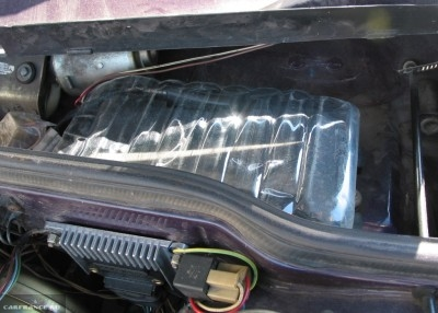Защита блока предохранителей на ВАЗ-2114 от влаги