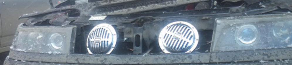 Звуковой сигнал под капотом ВАЗ-2112