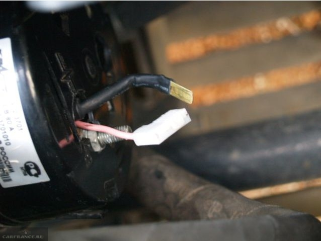 Провода генератора на ВАЗ-2114