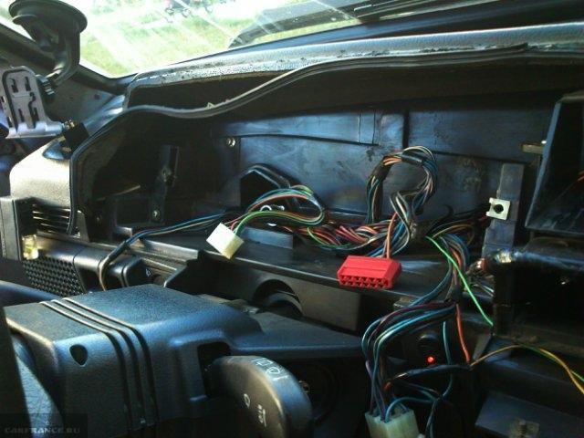 Подключение проводки ЭУР ВАЗ-2114