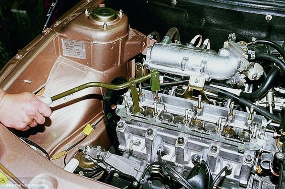 Рассухаривание клапана ВАЗ-2114