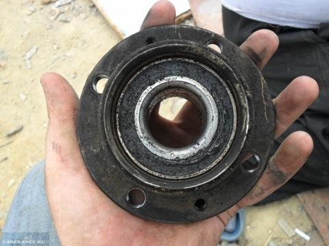Демонтаж подшипника ВАЗ-2114