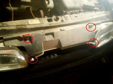 Защитный кожух радиатора ВАЗ-2114