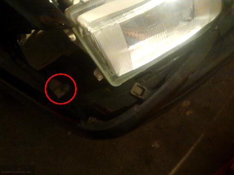 Винт крепления поворотника фары ВАЗ-2114