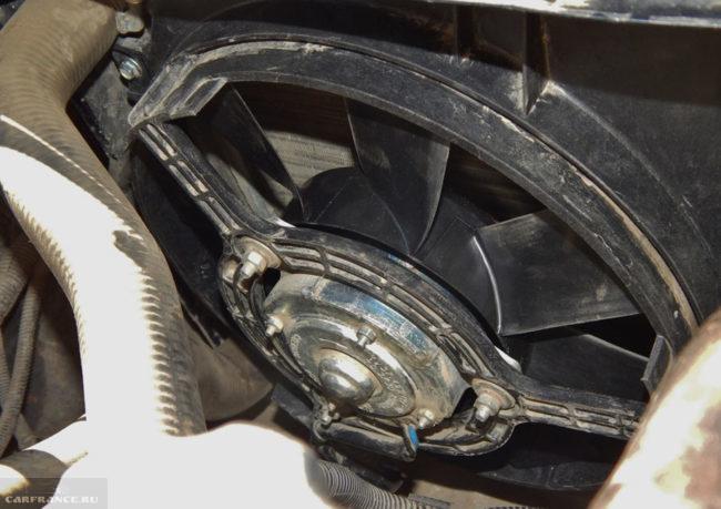 4-ёх лопастной вентилятор на ВАЗ-2114