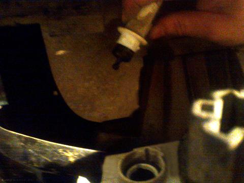 Демонтаж элементов фары ВАЗ-2114