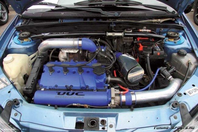 ДВС Тойота на ВАЗ-2114