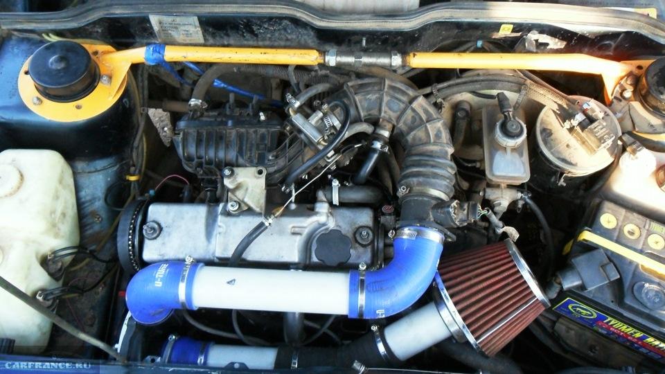 Тюнинг двигателя 8 клапанный инжектор своими руками 88