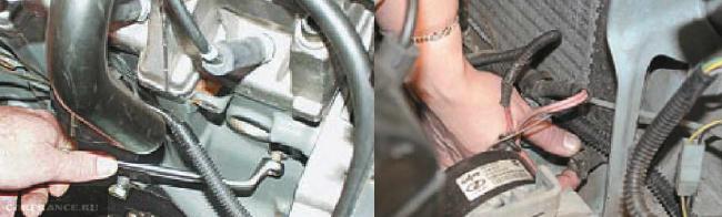 Пробки тосола на 8 клапанном моторе ВАЗ