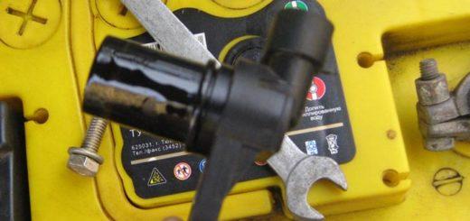 Расположение датчика фаз под капотом ВАЗ-2114