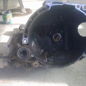 Половина КПП демонтированная с узла на ВАЗ-2114
