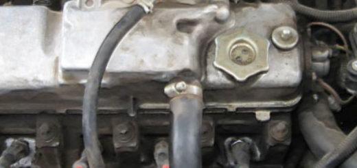 Двигатель под капотом ВАЗ-2114