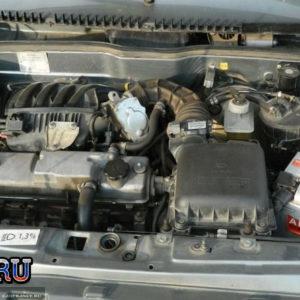Редакционная ВАЗ-2114 после мойки двигателя