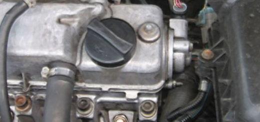 Двигатель ВАЗ-2114 вблизи