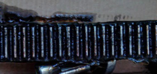 Проверка износа зубьев на рулевой рейке ВАЗ-2114