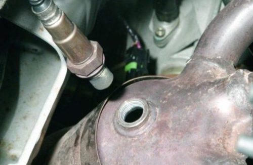 Лямбда-зонд на автомобиле ВАЗ-2114