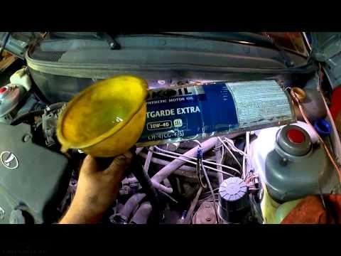 Заливка масла в КПП ВАЗ-2114