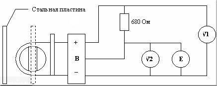 Схема датчика распредвала ВАЗ-2114