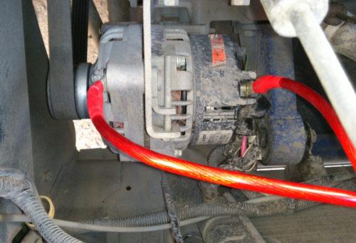 Дополнительная масса на генератор ВАЗ-2114