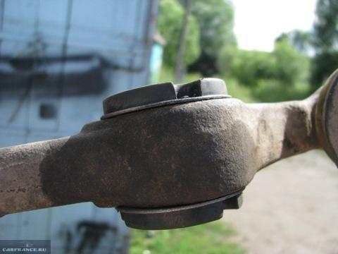 Новая ромашка в рычаге на ВАЗ-2114