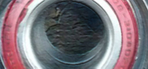 Установка стопорного кольца на новый ступичный подшипник ВАЗ-2114