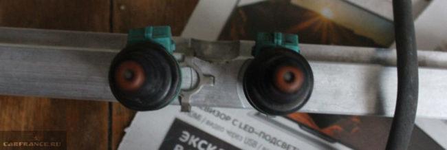 Топливные форсунки на ВАЗ-2114
