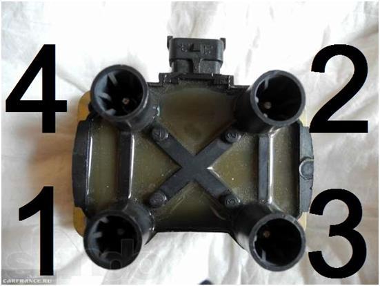 Модуль зажигания ВАЗ-2114 после 2004 года