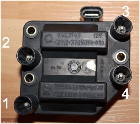 Модуль зажигания ВАЗ-2114 до 2004 года