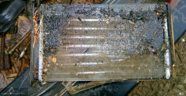Радиатор печки потёк на ВАЗ-2114