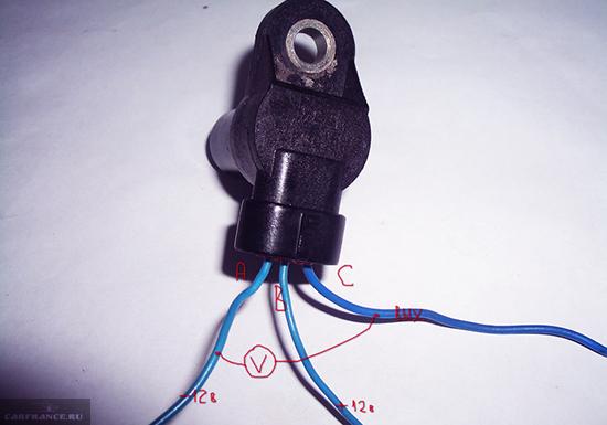 Схема подключения проводов датчика распредвала ВАЗ-2114
