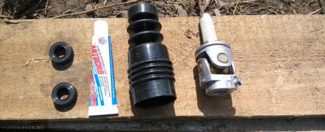 Сальник привода коробки и сам привод на ВАЗ-2114