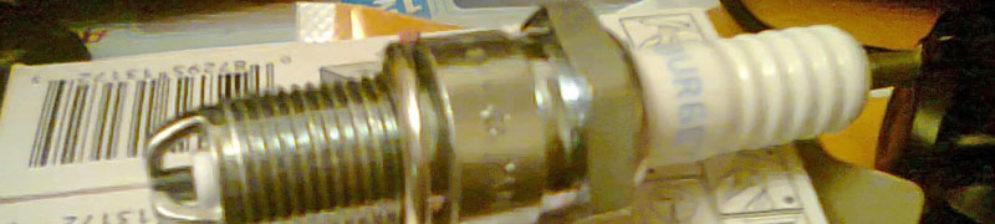 Исправная свеча зажигания на ВАЗ-2110