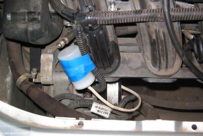 Двигатель с прицепленным диодом от генератора ВАЗ-2114