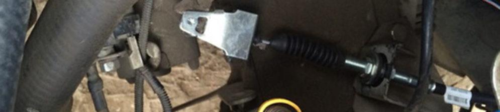 Установка нового троса сцепления на ВАЗ-2114