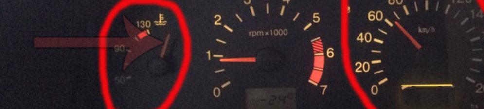 Превышение рабочей температуры двигателя на ВАЗ-2114