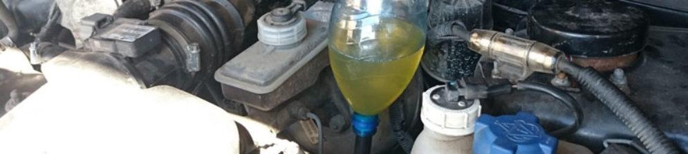 Заливка нового масла в КПП на ВАЗ-2114