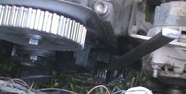 Демонтаж коленвала ВАЗ-2114