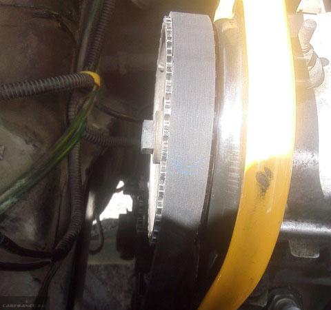 Ремень ГРМ на двигателе подтянут на ВАЗ-2114