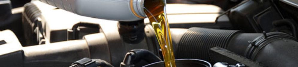 Заправка маслом двигателя