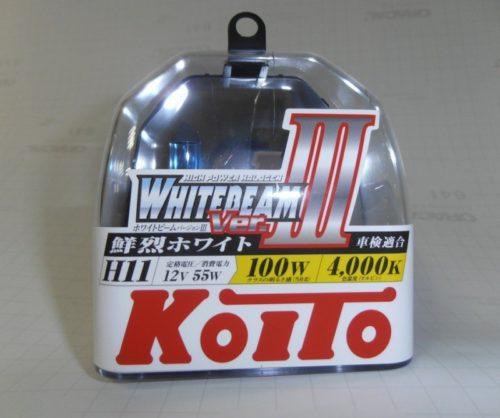 Автомобильные лампы KOITO WHITE BEAM