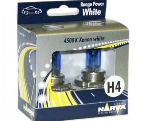 Автолампа NARVA H4 Range Power White 12V