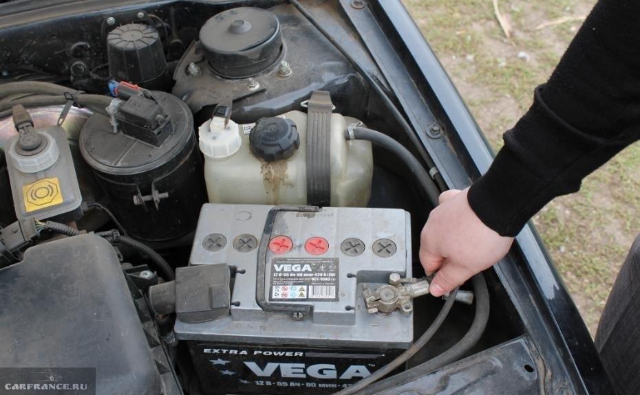 Как в машине найти что сажает аккумулятор 16