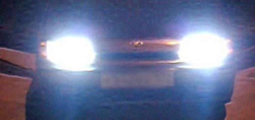 Ближний свет фар на ВАЗ-2114